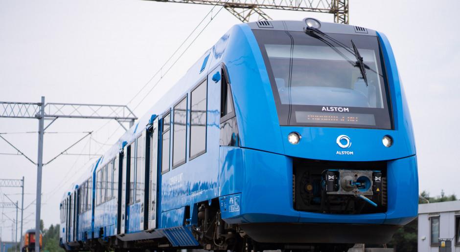 Alstom testuje pociąg wodorowy