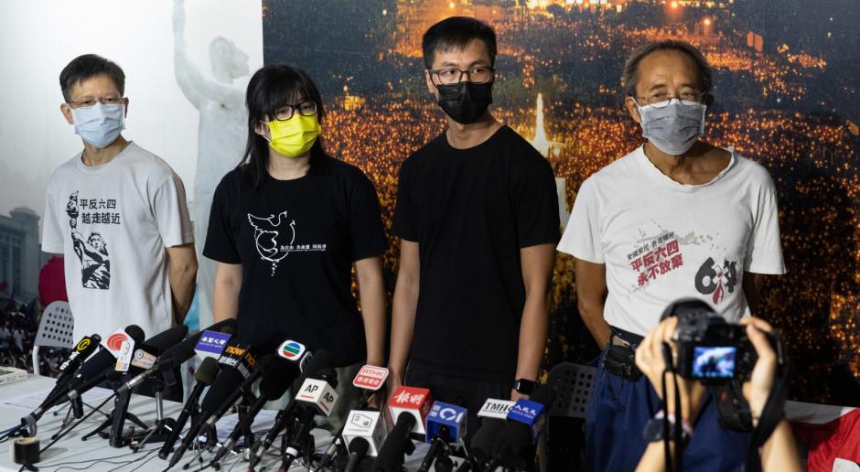 Hongkong: Aresztowanie liderki opozycyjnej organizacji