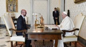 Papież rozmawiał z Michelem o uchodźcach z Afganistanu
