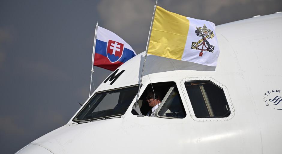 Słowacja : Papież Franciszek przybył do Bratysławy