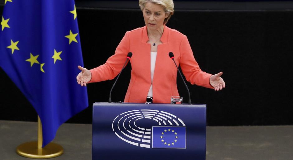 Orędzie Von der Leyen: Wyzwaniami dla UE są pandemia, klimat, migracja i obronność