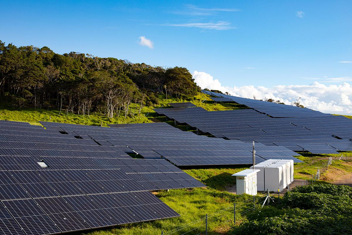 Hybrydowa instalacja OZE na wyspie Lord Howe (fot. mat. Photon Energy)