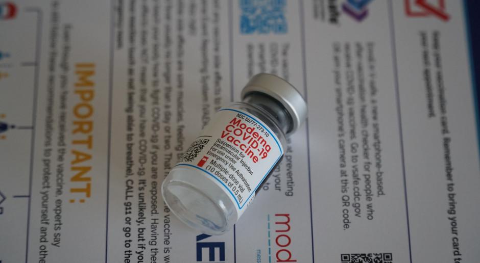 USA: Naukowcy: Szczepionka Moderny najbardziej skuteczna przeciwko koronawirusowi