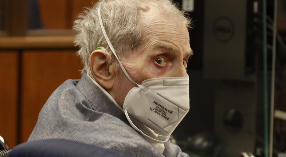 USA: Milioner Robert Durst uznany winnym zabójstwa swej przyjaciółki