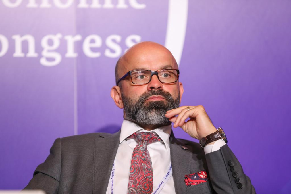 Janusz Michałek, prezes zarządu Katowickiej Specjalnej Strefy Ekonomicznej Fot. PTWP