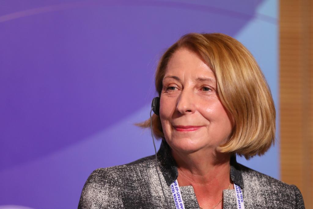 Urszula Woeltjen, przedstawiciel Invest Region Leipzig Fot. PTWP