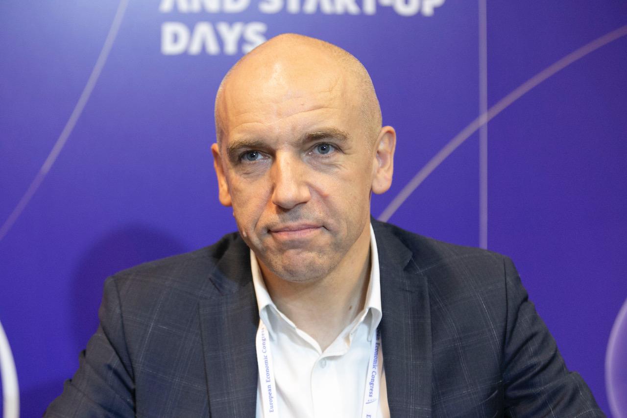 Przemysław Lewicki, szef działu robotyki ING Banku Śląskiego