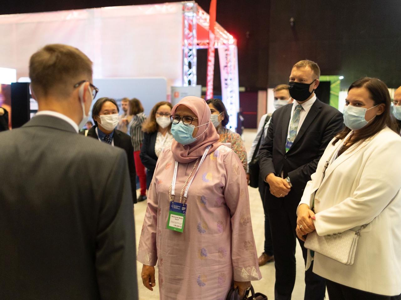Na zdj. Maimunah Mohd Sharif, dyrektor wykonawcza, Program Narodów Zjednoczonych ds. Osiedli Ludzkich (UN-Habitat)
