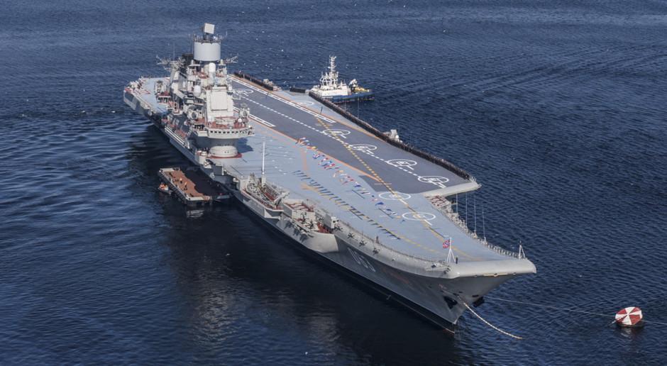 Nowy rosyjski lotniskowiec najwcześniej w przyszłej dekadzie