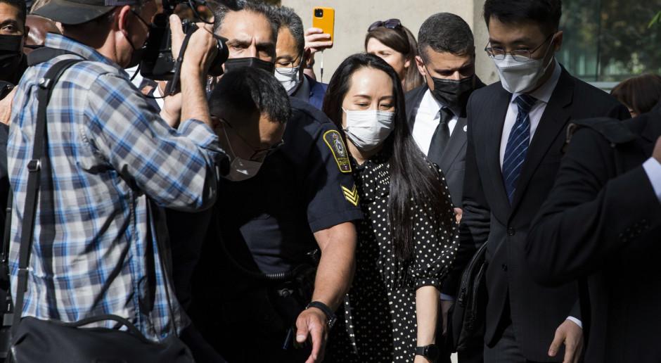Kanada: Koniec postępowania ekstradycyjnego wiceprezes Huawei