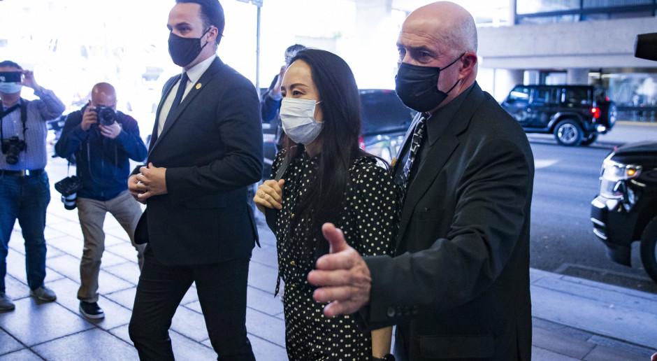 Kanada: Wiceprezes Hauwei odleciała do Chin