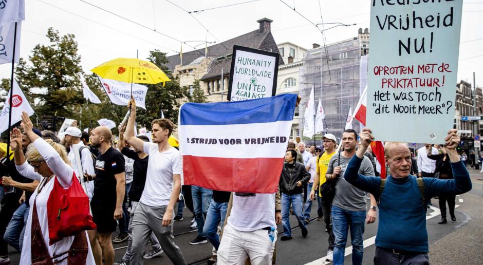 Holandia: Od soboty obowiązują nowe obostrzenia związane z koronawirusem