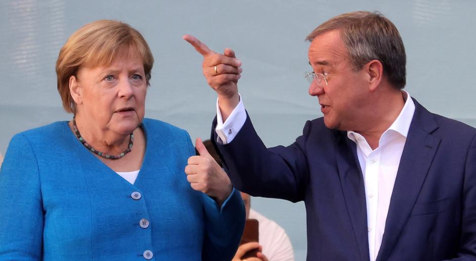 Niemcy: Merkel i Laschet: Jeśli chcecie stabilności, to jutro chadecja musi wygrać