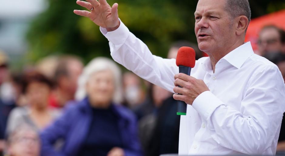 Niemcy: Kandydat SPD na kanclerza Olaf Scholz nieoczekiwanym faworytem wyborów