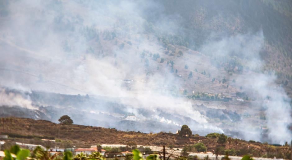 Hiszpania: Popiół wulkaniczny z La Palmy dotarł na sąsiednie wyspy