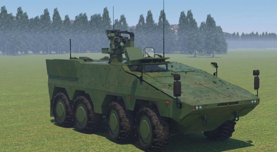 Wizualizacja nowego systemu antydronowego Bundeswehry, fot. Hendsoldt