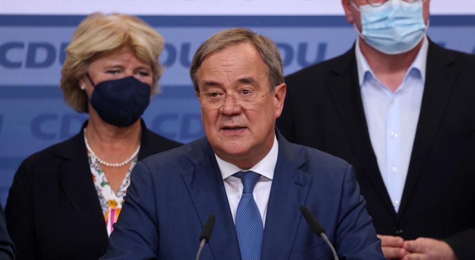 Niemcy: Laschet: Chadecja zrobi wszystko co w jej mocy, by stworzyć nowy rząd