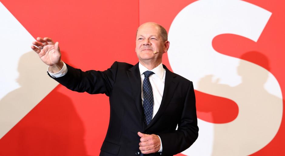 Niemcy: Scholz: Wynik wyborczy SPD to wielki sukces