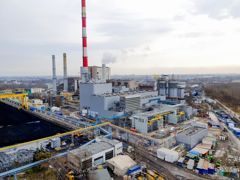 Jesienią 2021 r. powinien być oddany blok gazowy o mocy 496 MW w Elektrociepłowni Żerań należącej do PGNiG Termika. Fot. mat. prasowe