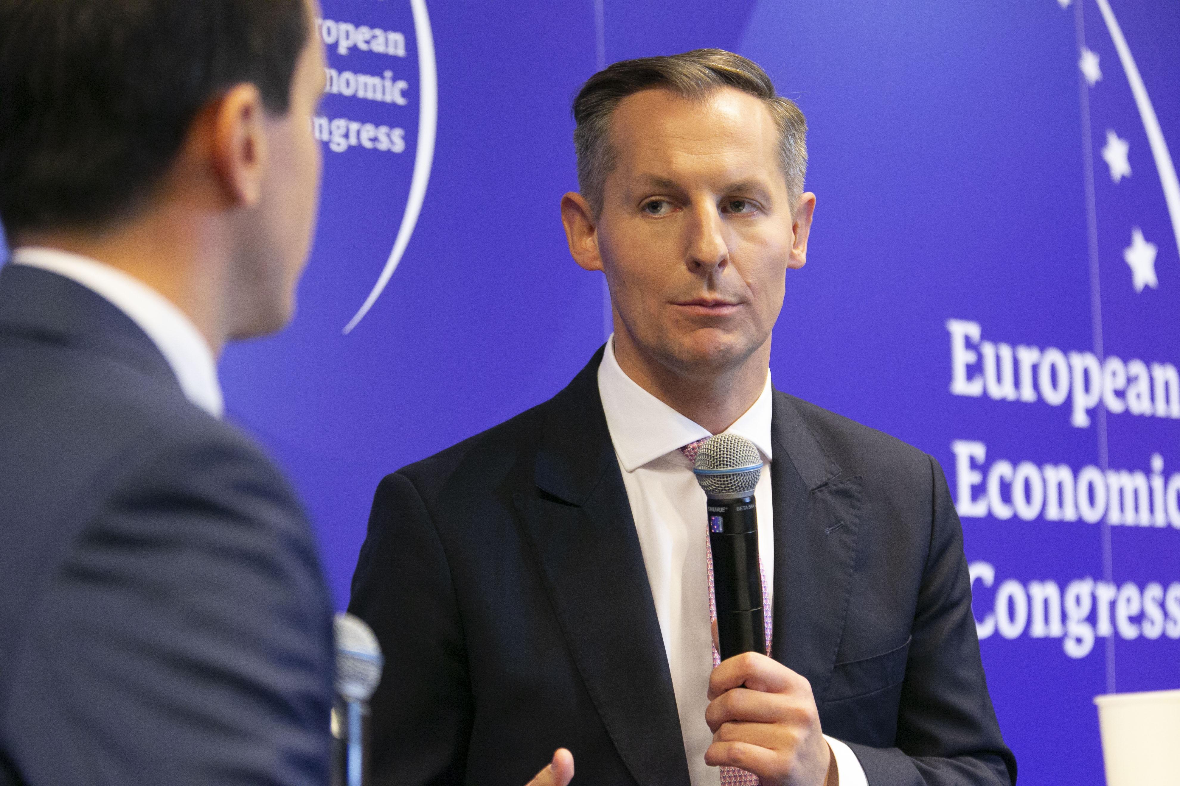 Prezes UOKiK Tomasz Chróstny podczas EKG 2021 (Fot. PTWP)