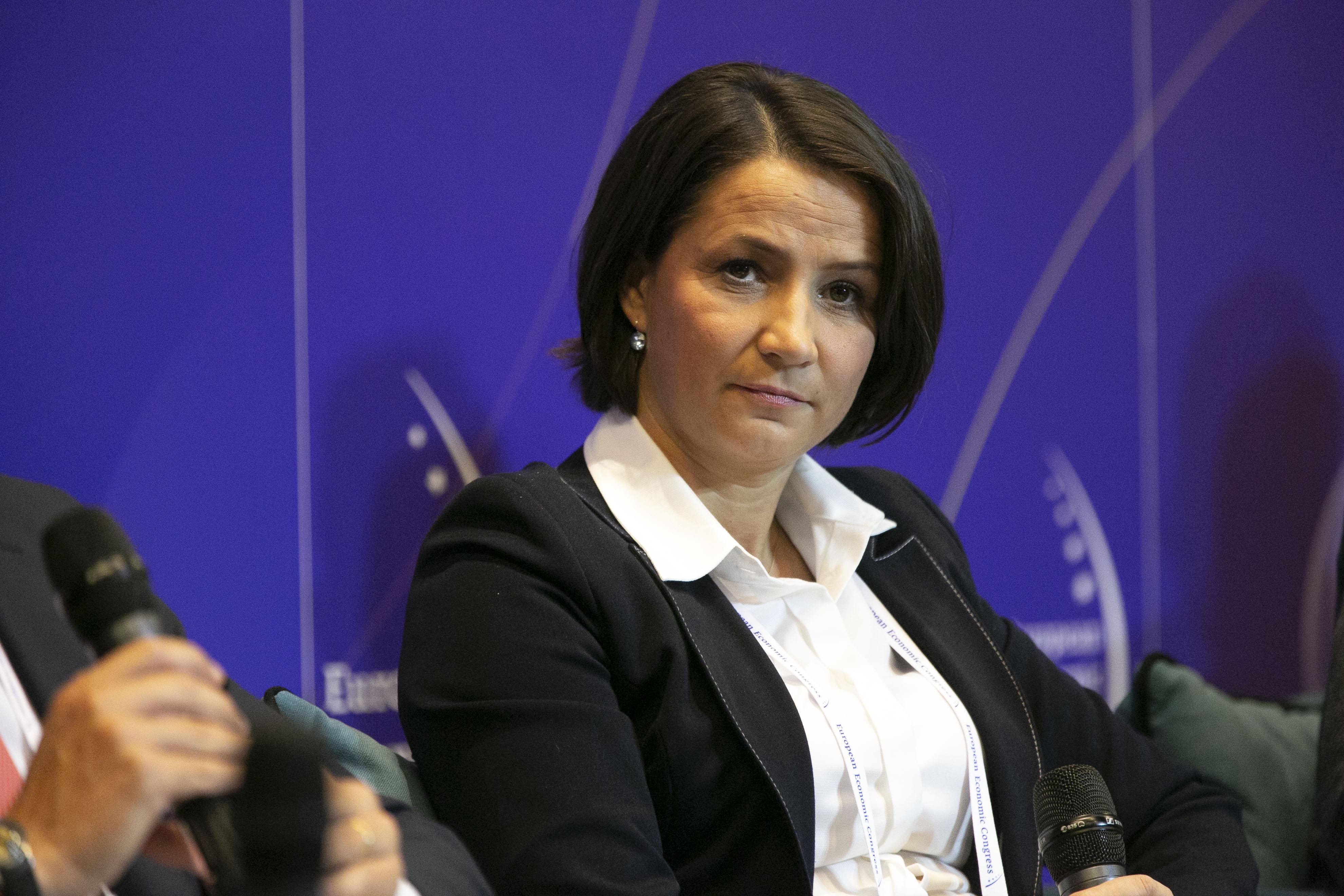 Edyta Demby-Siwek, prezes Urzędu Patentowego RP, powiedziała, że Polska traci ok. 2,2 mld euro rocznie z powodu podróbek (Fot. PTWP)
