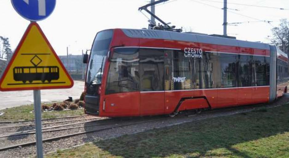 Największa przebudowa infrastruktury tramwajowej w Częstochowie dobiega końca