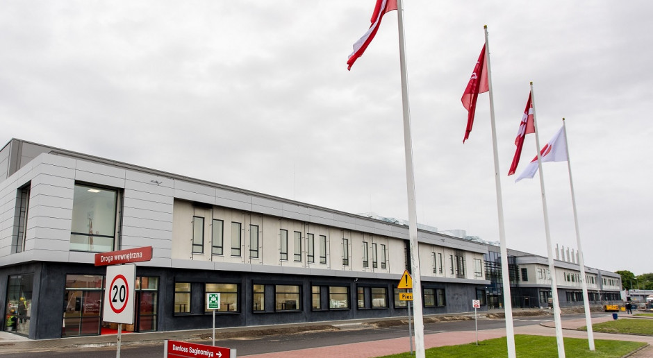 Nowa fabryka Danfossu na finiszu