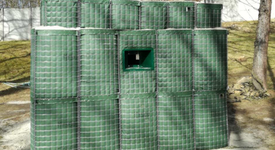 Posterunek obserwacyjno-strażniczy hesco, fot. Megmar