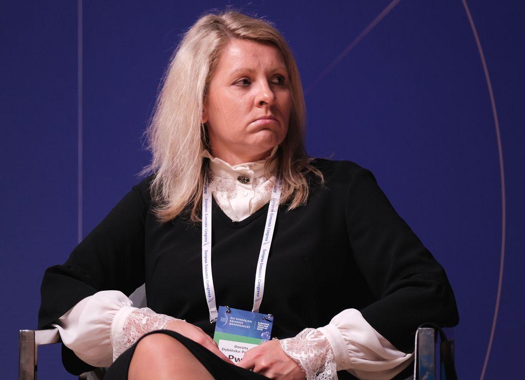 Dorota Dębińska-Pokorska, partner PwC ( Fot. PTWP)