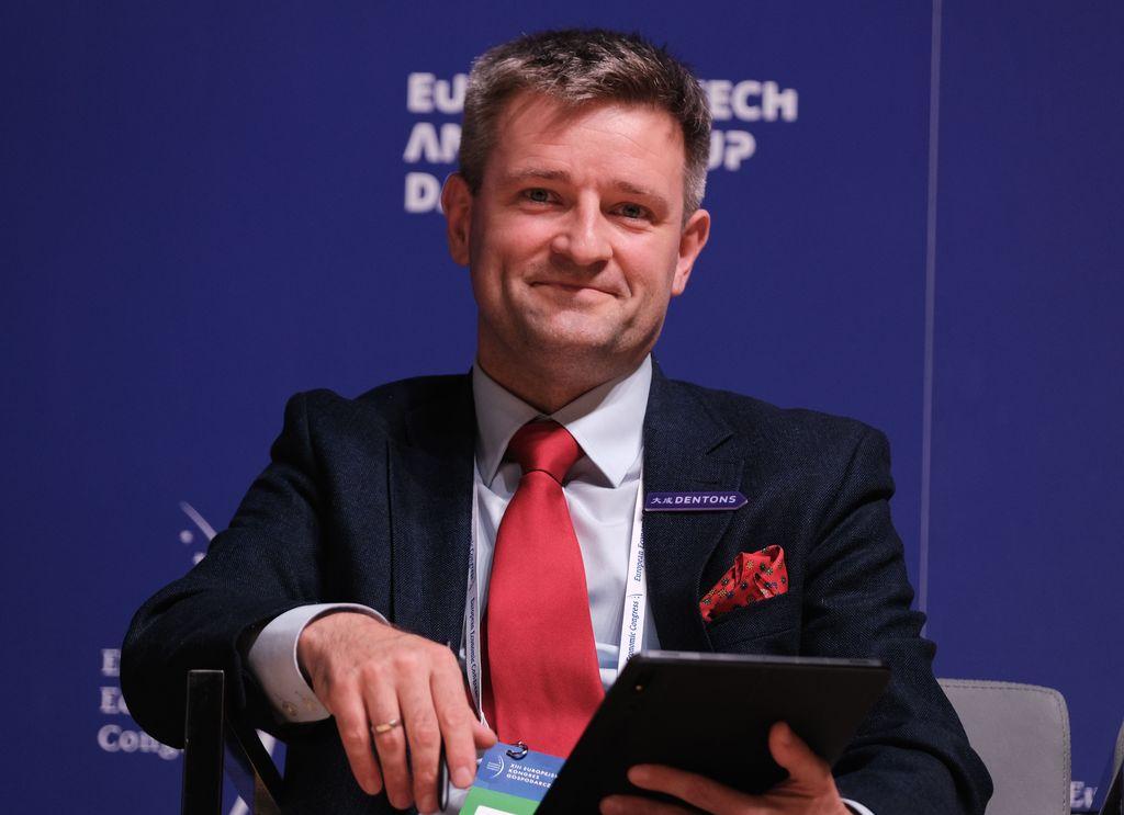 Michał Motylewski, kancelaria Dentons ( Fot. PTWP)