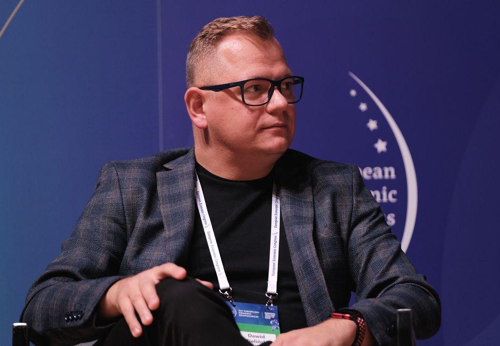 Dawid Zieliński, prezes zarządu Columbus Energy ( Fot. PTWP)