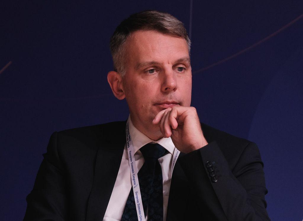 Patryk Demski, wiceprezes zarządu ds. strategii i rozwoju Taurona Polska Energia ( Fot. PTWP)