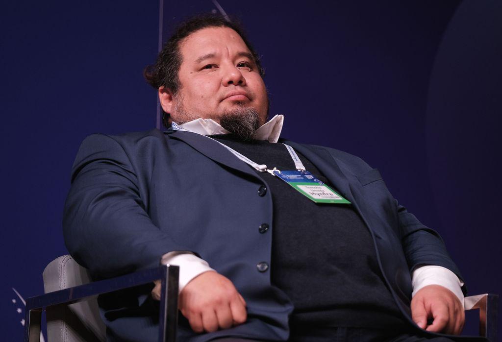Tomoho Umeda, prezes Hynfra ( Fot. PTWP)