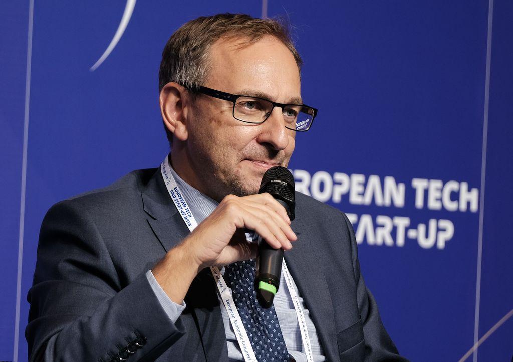 Rafał Soja, prezes zarządu Tauron Sprzedaż (Fot. PTWP)