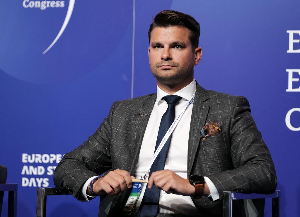 Piotr Listwoń, wiceprezes zarządu ds. operacyjnych Towarowej Giełdy Energii (Fot. PTWP)