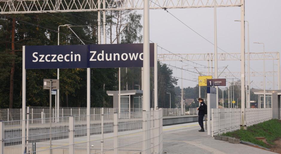 Nowe perony na kolejowej trasie z Poznania do Szczecina
