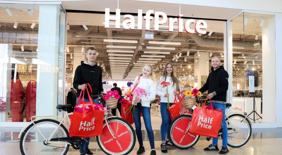 Pierwszy sklep sieci HalfPrice w Pradze