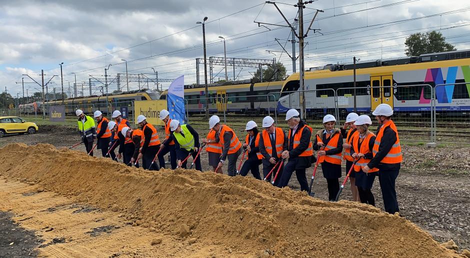 Budimex i KZN Rail rozpoczęły budowę bazy Kolei Małopolskich