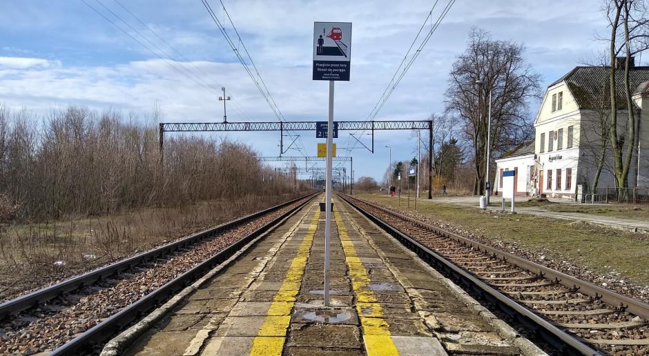 Nowe perony PKP PLK