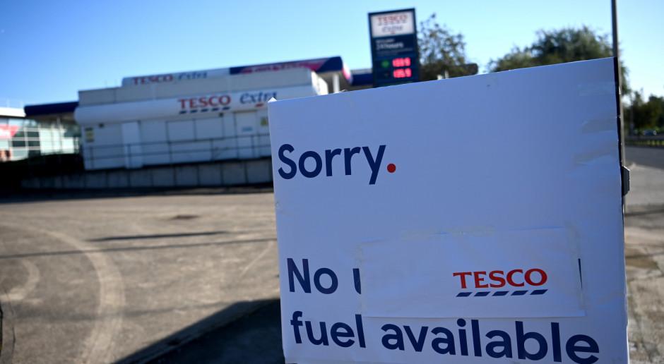 Wielka Brytania: Żołnierze będą rozwozić paliwo na stacje benzynowe