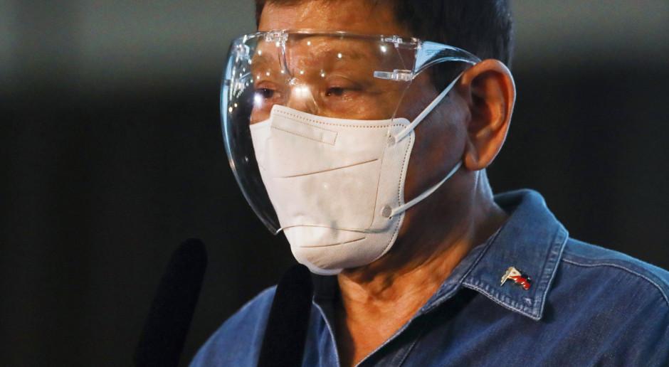 Filipiny: Prezydent Duterte ogłosił, że po obecnej kadencji odejdzie z polityki