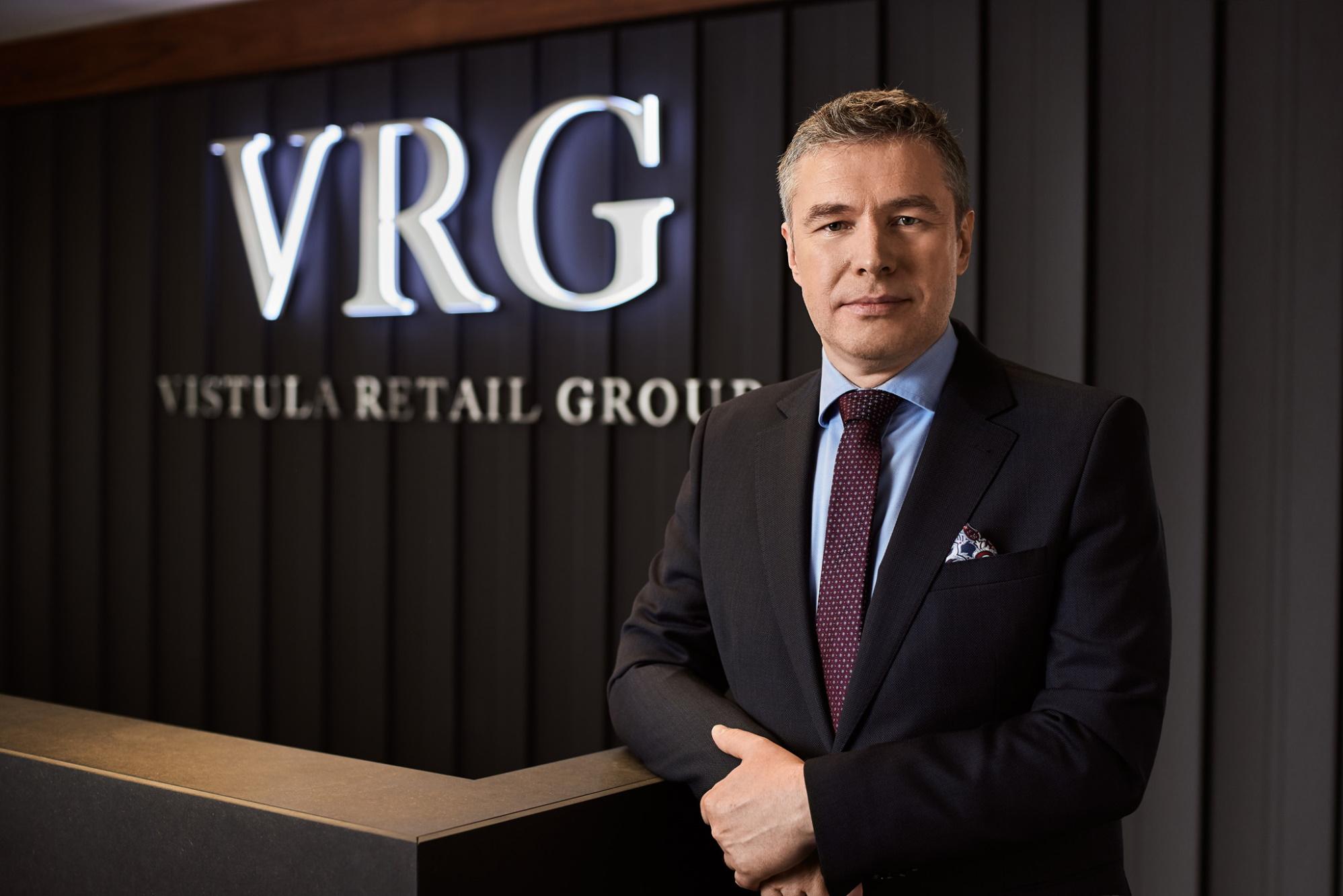 Michał Zimnicki, wiceprezes VRG odpowiedzialny za finanse, IT, logistykę, HR i administrację