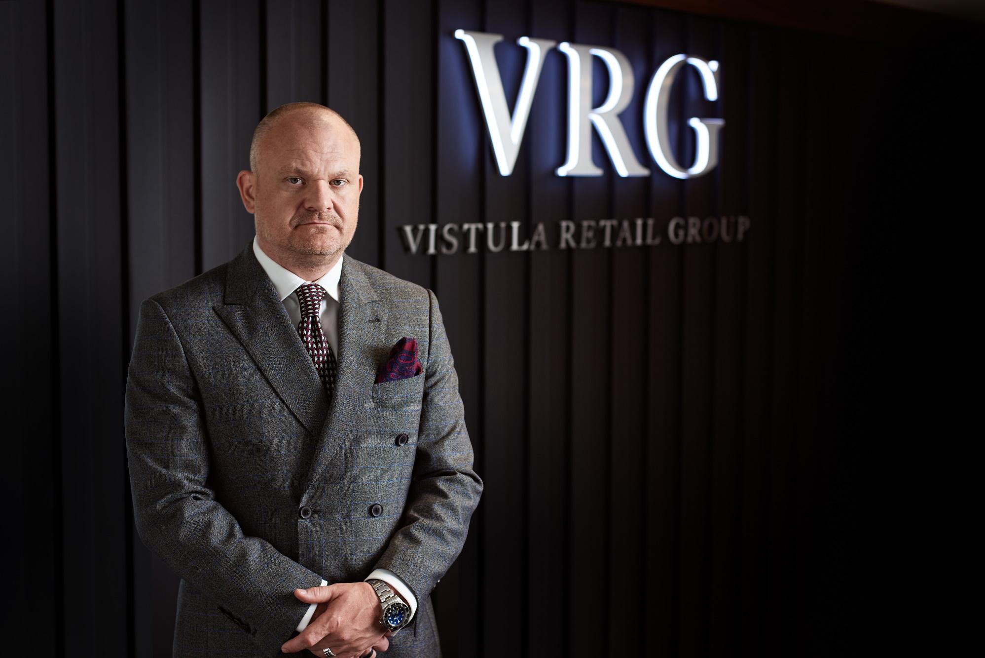 Radosław Jakociuk, wiceprezes VRG odpowiedzialny za działalność operacyjną i piony marek.