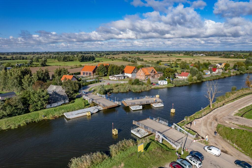 Drugi etap budowy drogi wodnej, rzeka Elbląg (Fot. Urząd Morski w Gdyni)