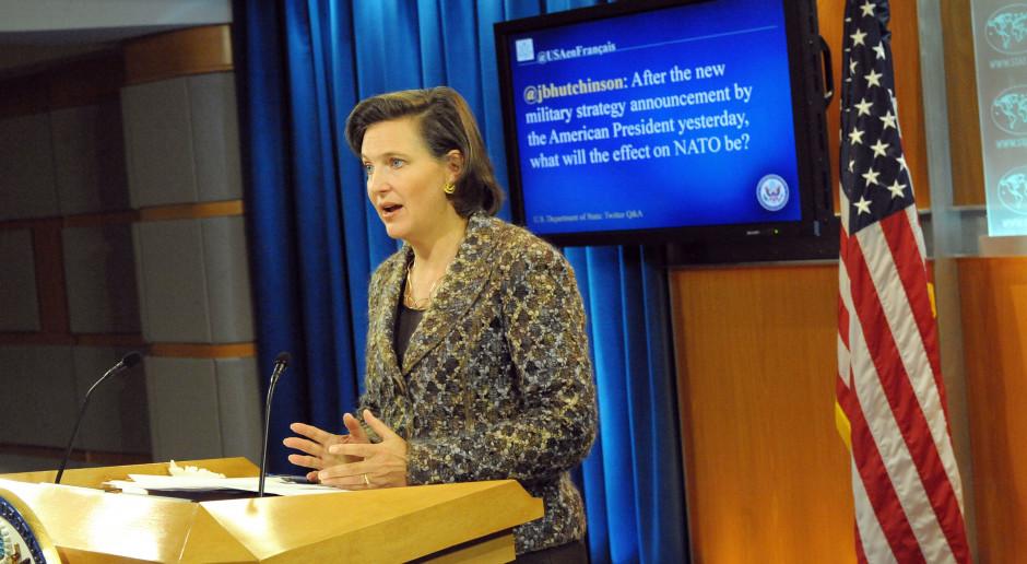 W Rosji złoży wkrótce wizytę podsekretarz stanu USA Victoria Nuland