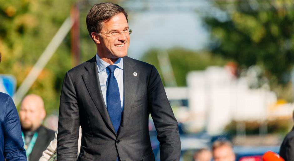 Holandia: Sondaż: Holendrzy chcą, by rządem nadal kierował Mark Rutte