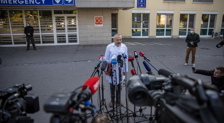 Czechy: Prezydent Zeman na szpitalnym oddziale intensywnej opieki medycznej