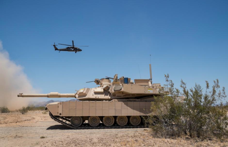 Nie widomo też, czy Stany Zjednoczone zgodzą się na sprzedaż najbardziej zaawansowanej wersji Abramsów, Abrams z systemem Trophy, fot. Rafael