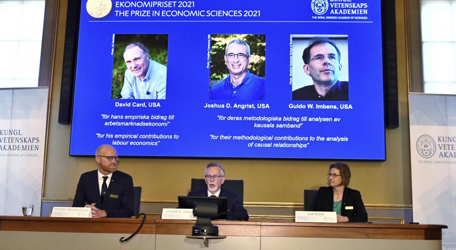 Nagrody Nobla 2021: Znamy laureatów z ekonomii. To David Card, Joshua Angrist i Guido Imbens