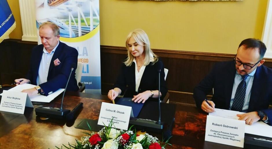 JSW rozszerza współpracę z Uniwersytetem Ekonomicznym w Katowicach